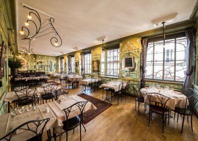 Salle étage, restaurant Bouillon Racine
